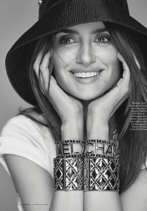 Penélope Cruz - Io Donna del Corriere della Sera 04/11/2020 Issue