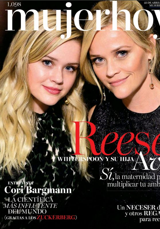 Reese Witherspoon and Ava Elizabeth Phillippe - Mujer Hoy Magazine 04/25/2020 Issue