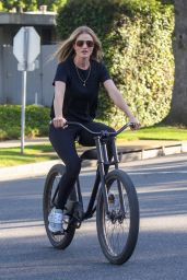 Rosie Huntington-Whiteley - Bike Ride in Beverly Hills 04/22/2020