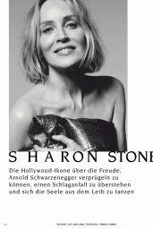 Sharon Stone - Vogue Magazine Germany May 2020 Issue
