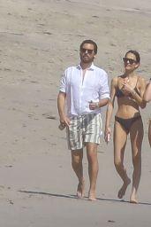 Sofia Richie in a Bikini - Beach in Malibu 04/23/2020