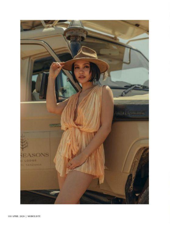 Stella Hudgens - Modeliste Magazine April 2020 Issue