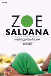 Zoe Saldana - Cosmopolitan Magazine Germany May 2020 Issue