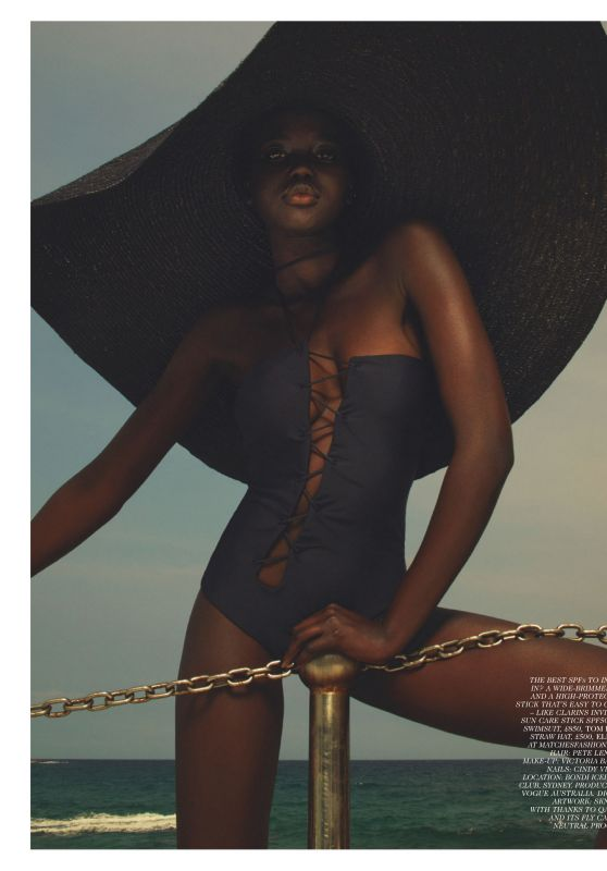 Adut Akech - Vogue UK  June 2020 Issue