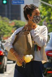 Alessandra Ambrosio - Shopping in Brentwood 05/06/2020