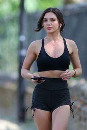 Alexandra Cane in Workout Outfit - Jogging in London 05/25/2020