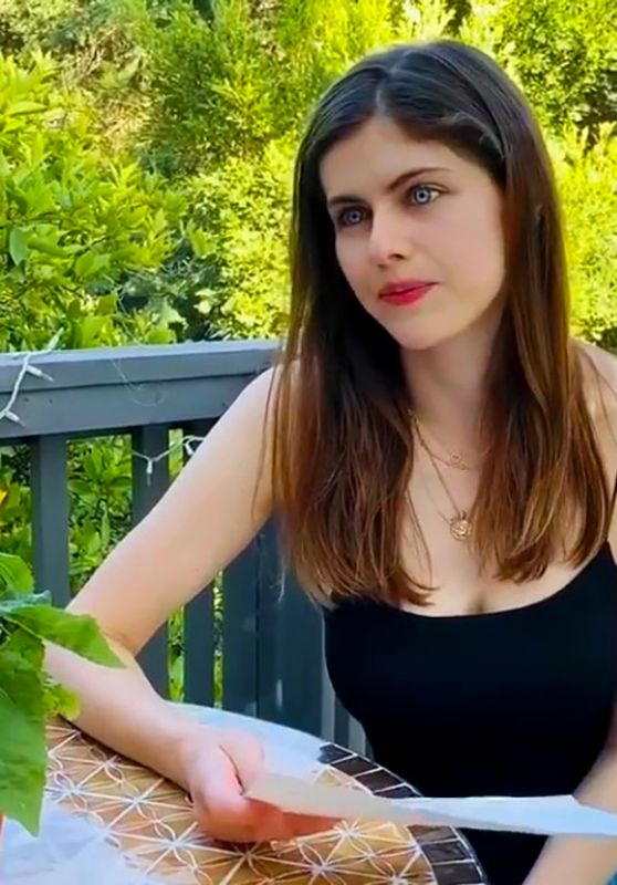 Alexandra Daddario - Answers Her Fans Questions, May 2020