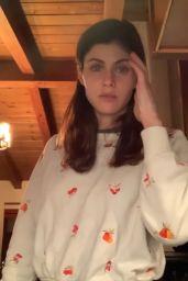Alexandra Daddario - Social Media Video 05/12/2020