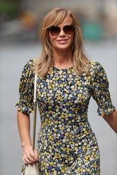 Amanda Holden in a Floral Print Tea Dress 05/13/2020