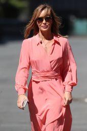 Amanda Holden in Maxi Dress - Leaving the Global Radio Studios in London 05/15/2020