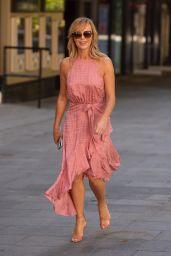 Amanda Holden - Leaving the Heart Radio Studios in London 05/19/2020
