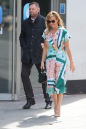 Amanda Holden Style - Leaving Global Studios in London 05/05/2020