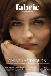 Amber Anderson - Fabric Magazine 2020