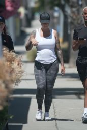 Amber Rose - Out in Studio City 05/14/2020