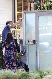 Ana de Armas and Ben Affleck - Arrive Home in LA 05/07/2020