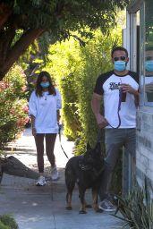 Ana De Armas and Ben Affleck - Out in LA 05/19/2020