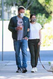 Ana De Armas and Ben Affleck - Out in Venice 05/14/2020