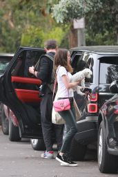 Ana De Armas and Ben Affleck  - Pack Up Their Rover and Leave Venice 05/28/2020