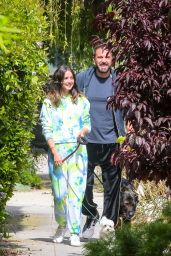 Ana De Armas and Ben Affleck - Taking Their Dogs for a Stroll in Venice 05/27/2020
