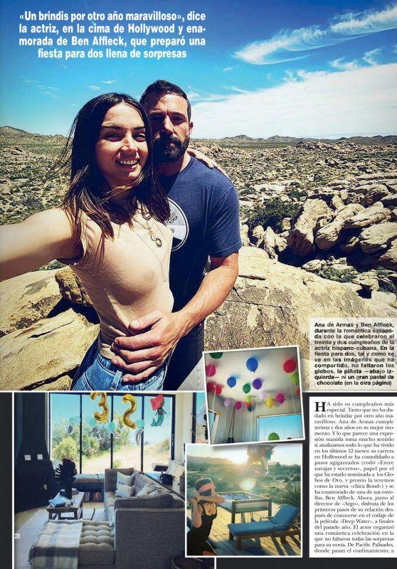 Ana De Armas - ¡Hola! Mexico 05/14/2020 Issue