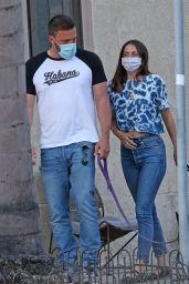 Ana De Armas - Walking the Dogs in LA 05/06/2020