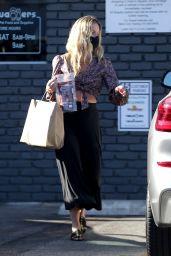Annabelle Wallis Street Style - Shopping in Los Feliz 05/17/2020