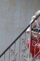 Ashley Benson - Arrives at G-Eazy