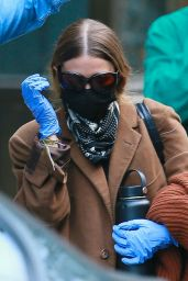Ashley Olsen - Leaving Her Office in NYC 05/14/2020