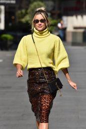 Ashley Roberts - Leaving the Global Radio Studios in London 05/19/2020