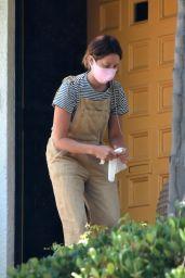 Ashley Tisdale - Outside Her House in Los Feliz 05/20/2020