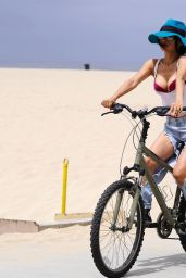 Bai Ling - Goes For a Bike Ride in Santa Monica 05/12/2020