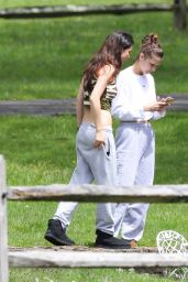 Bella Hadid - Out For a Walk in New Hope 05/03/2020