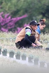 Bella Hadid - Planting Herbs With Her Mom in New Hope 04/30/2020