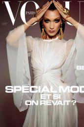 Bella Hadid - Vogue Paris May/June 2020 Cover