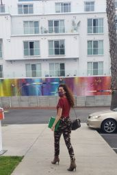 Blanca Blanco - Heads to FedEx in LA 05/30/2020