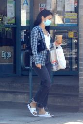 Camila Mendes in Casual Outfit - Beverly Hills 05/15/2020