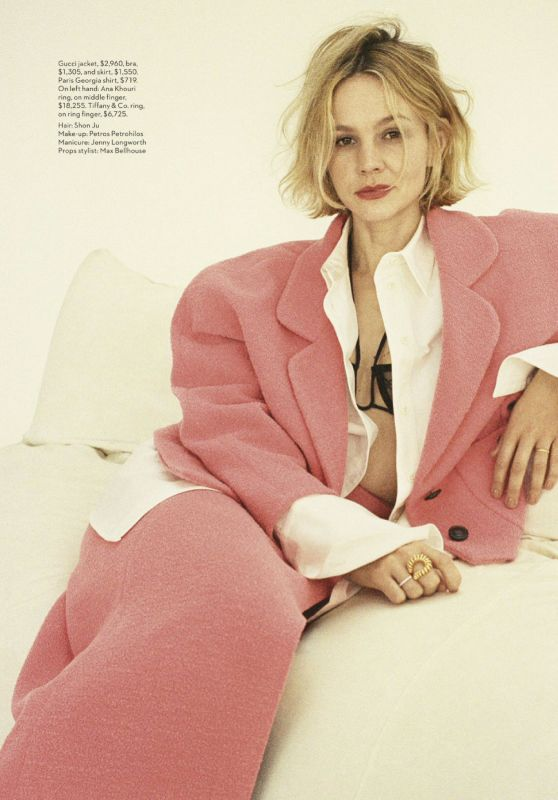 Carey Mulligan - Vogue Australia May 2020 Issue
