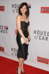"""Carla Gugino - """"House of Cards"""" Premiere in NYC"""