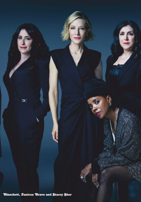 Cate Blanchett, Rose Byrne, Elizabeth Banks and Sarah Paulson - Emmy Magazine April 2020 Issue