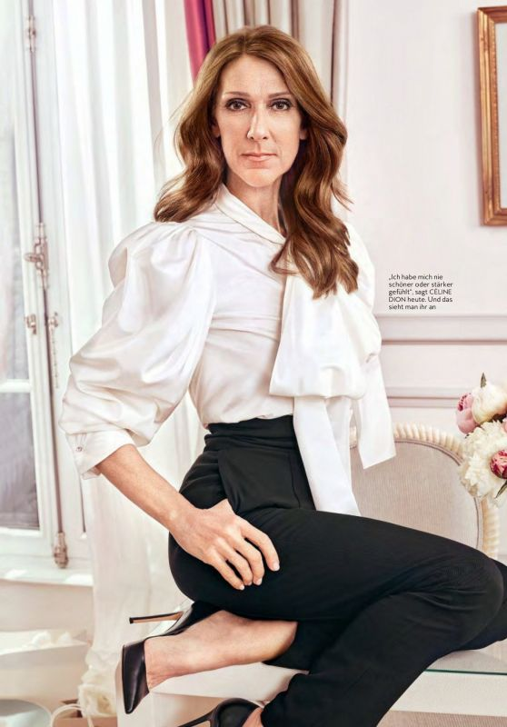 Céline Dion - InStyle Germany June 2020 Issue