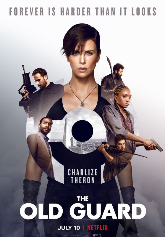 """Charlize Theron - """"The Old Guard"""" Poster"""