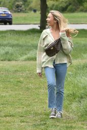 Chloe Ross and Ella Wise - Out in Chigwell, Essex 05/24/2020