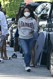 Christina Milian Street Style - Beverly Hills 05/12/2020