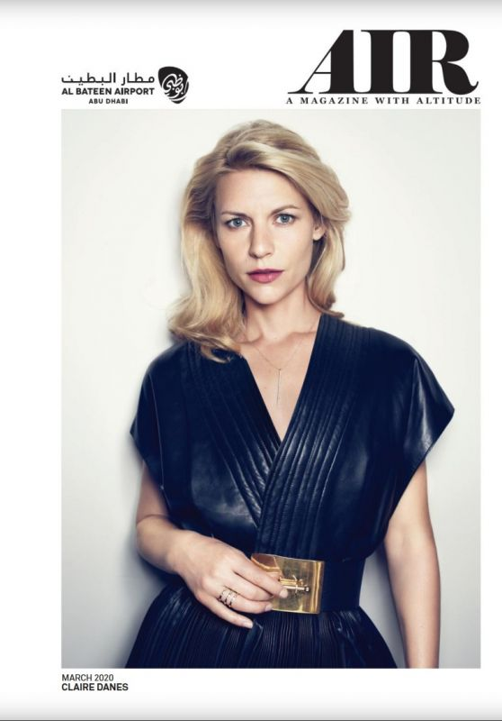 Claire Danes - Air Magazine March 2020 Issue