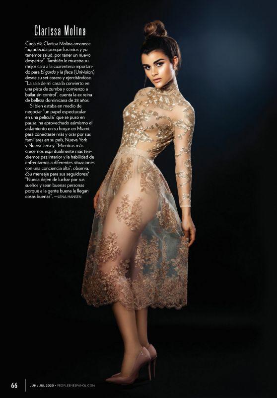 Clarissa Molina – People Magazine Spain June 2020 Issue
