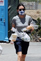 Courteney Cox - Shopping in Malibu 05/24/2020