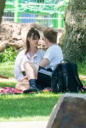Daisy Edgar-Jones in the Park in London 05/21/2020