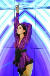 Dua Lipa - Presentation of Dua Lipa Wax Figure at Madame Tussauds in Berlin 05/14/2020
