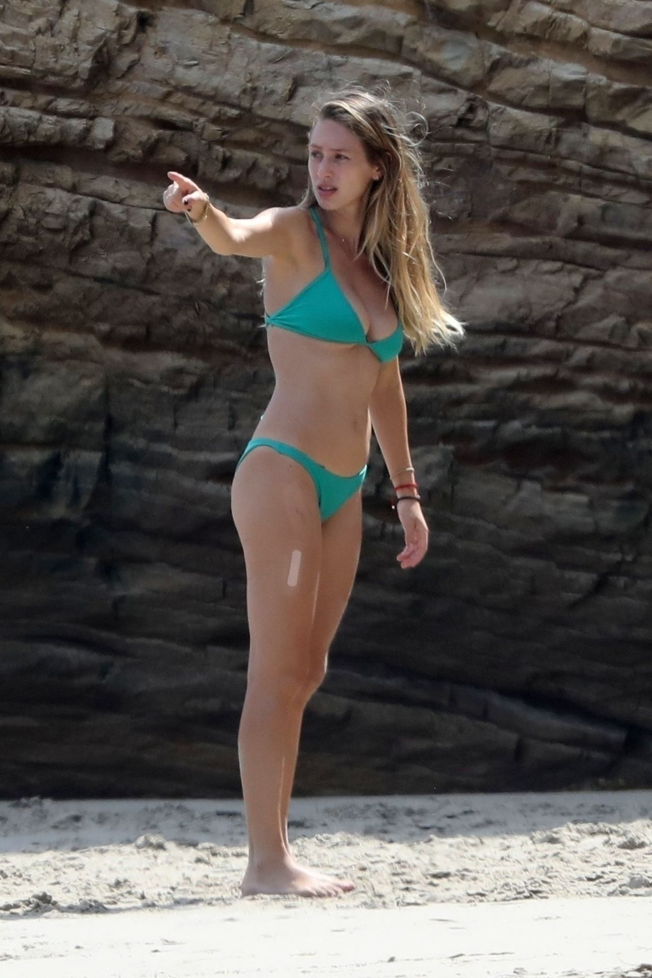Dylan Penn Shows Off Bikini Body While Beachside in Brazil