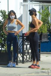 Elisabetta Canalis - Out in West Hollywood 05/26/2020